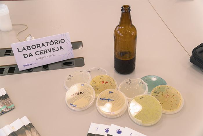 Amostras do Laboratório da Cerveja