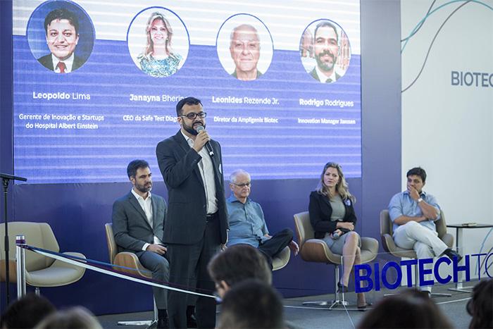 Talk sobre o mercado nacional de Biotecnologia e Ciência da Vida