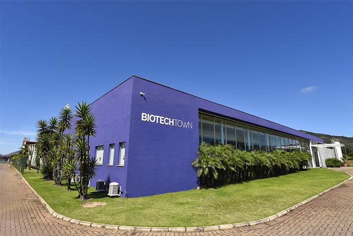Fachada do BiotechTown