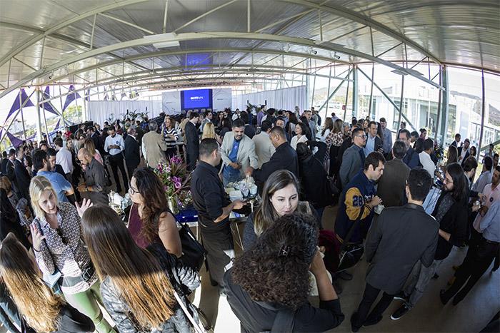 Convidados no evento de inauguração do BiotechTown