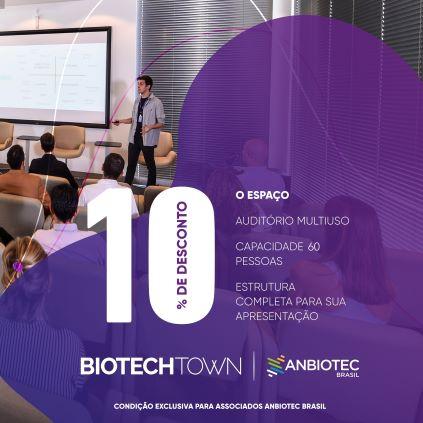 Vantagens Biotechtown e Anbiotec